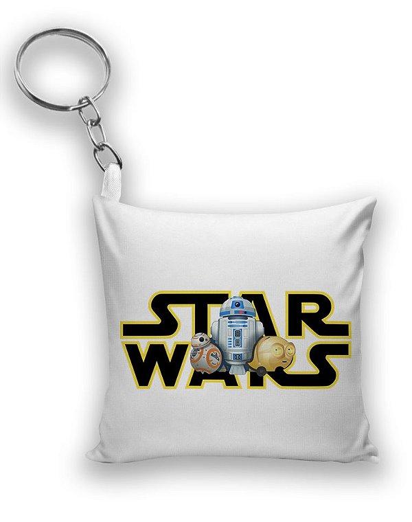 Chaveiro Star Wars - RD-D2 E BB-8