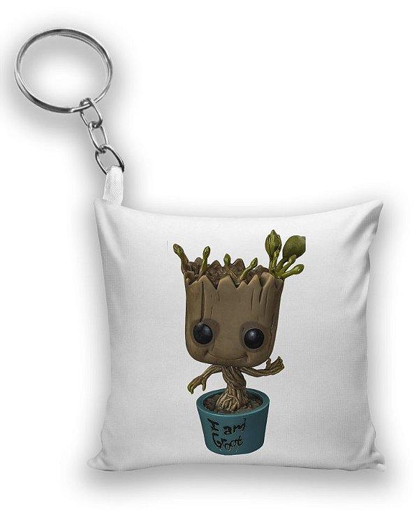 Chaveiro Guardiões da Galáxia - Baby Groot