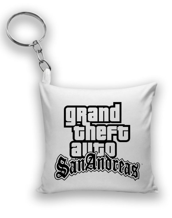 Chaveiro GTA - Grand Theft Auto - Nerd e Geek - Presentes Criativos
