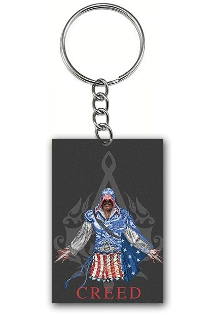 Chaveiro Assassin's Creed - Nerd e Geek - Presentes Criativos