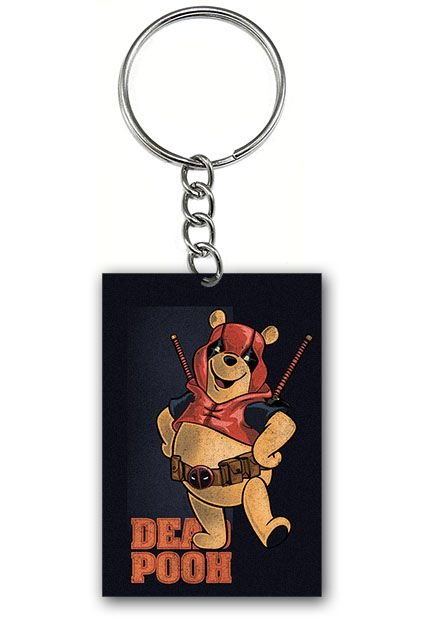 Chaveiro Ursinho Dead Pooh