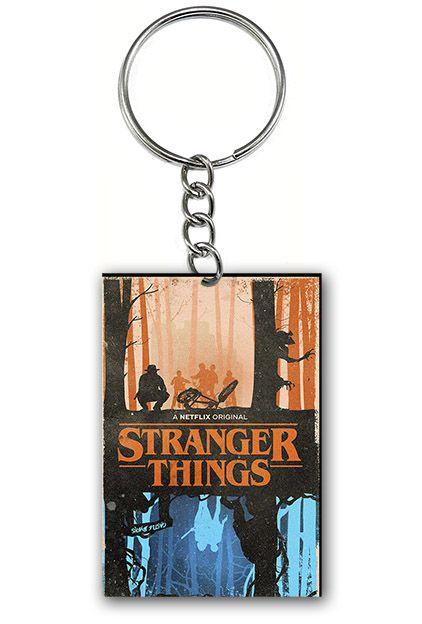 Chaveiro Stranger Things - Os dois Lados - Nerd e Geek - Presentes Criativos