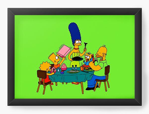 Quadro Decorativo The Simpsons cartoons mac cool
