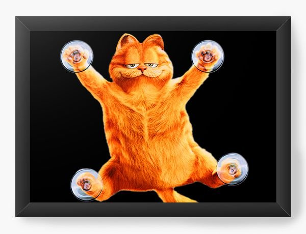 Quadro Decorativo Garfield Sarcastic