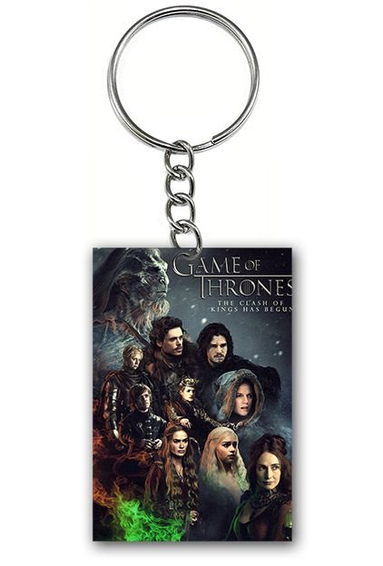 Chaveiro Game of Thrones - Serie - Nerd e Geek - Presentes Criativos