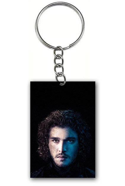 Chaveiro Game of Thrones - Jon Snow - Nerd e Geek - Presentes Criativos