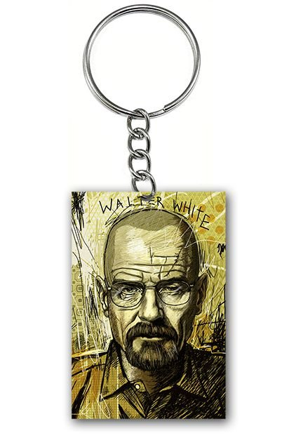 Chaveiro Breaking Bad - Nerd e Geek - Presentes Criativos