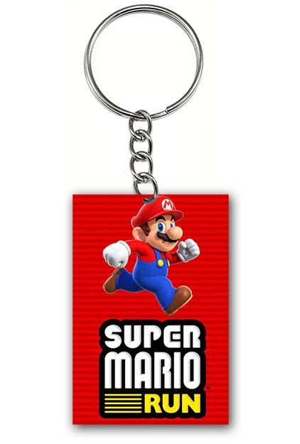 Chaveiro Super Mario Run - Nerd e Geek - Presentes Criativos