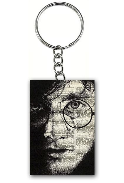 Chaveiro Harry Potter - Filme - Nerd e Geek - Presentes Criativos