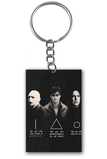 Chaveiro Harry Potter, Valdemort e Snape - Nerd e Geek - Presentes Criativos