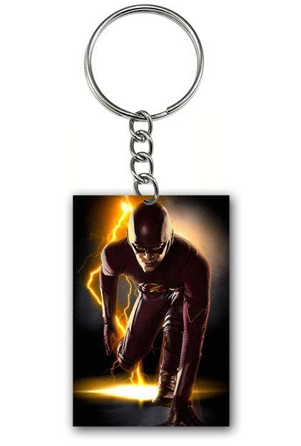 Chaveiro Flash - Serie - Nerd e Geek - Presentes Criativos