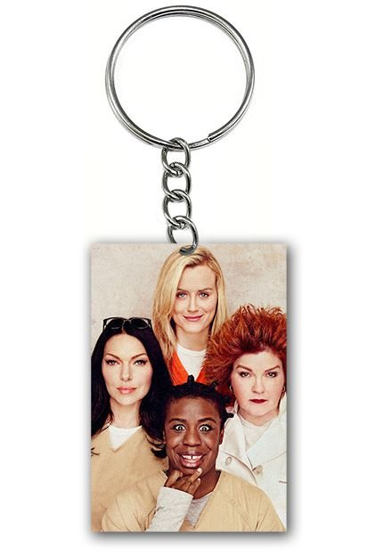 Chaveiro Orange Is the New Black - Nerd e Geek - Presentes Criativos
