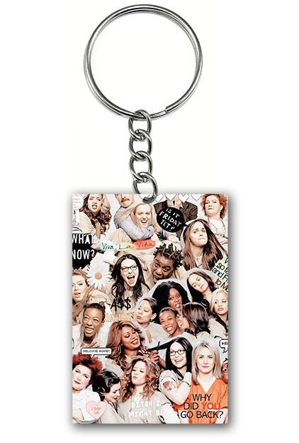 Chaveiro Orange Is the New Black - Serie - Nerd e Geek - Presentes Criativos