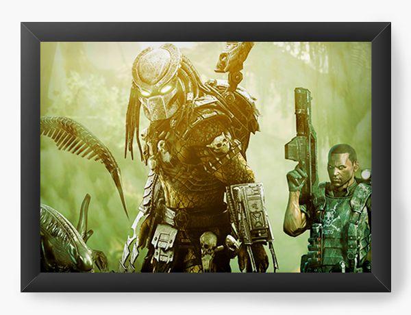 Quadro Decorativo Alien Forest - Nerd e Geek - Presentes Criativos