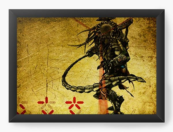Quadro Decorativo Alien Predador