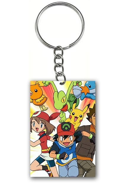 Chaveiro Pokemon - Nerd e Geek - Presentes Criativos