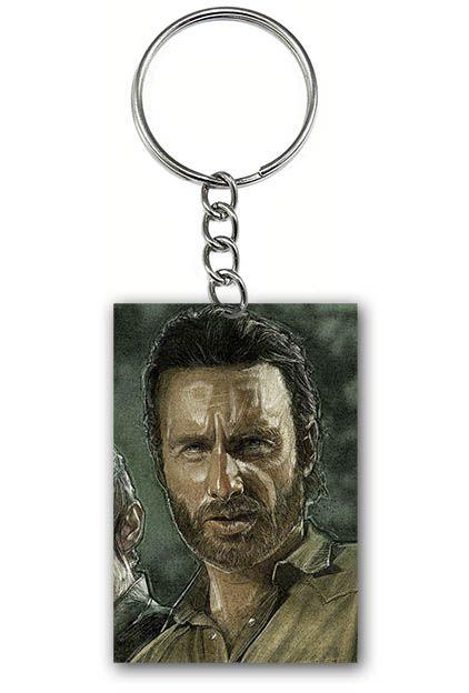 Chaveiro The Walking Dead - Rick Grimes - Nerd e Geek - Presentes Criativos