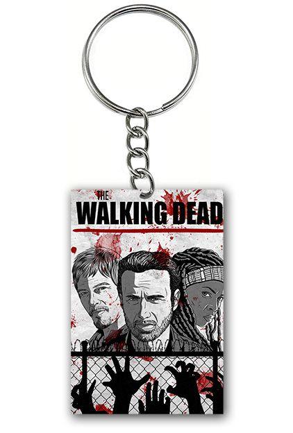 Chaveiro The Walking Dead - Nerd e Geek - Presentes Criativos