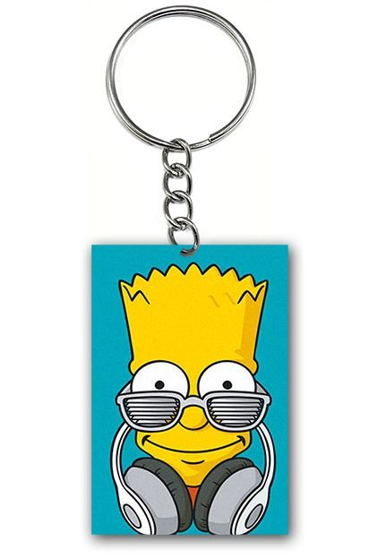 Chaveiro Simpson - Nerd e Geek - Presentes Criativos