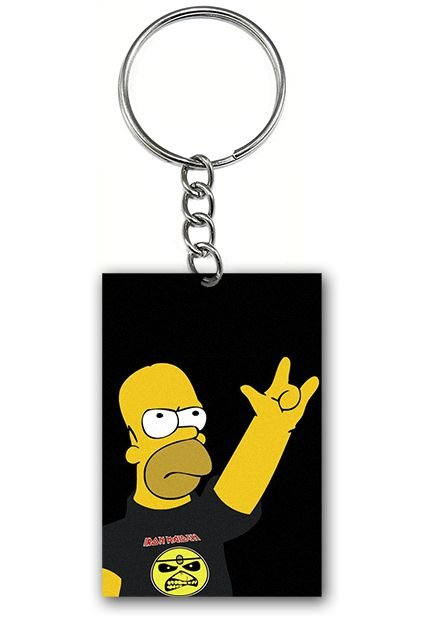 Chaveiro Homer Simpson - Nerd e Geek - Presentes Criativos