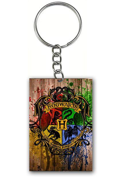 Chaveiro Hogwarts - Nerd e Geek - Presentes Criativos