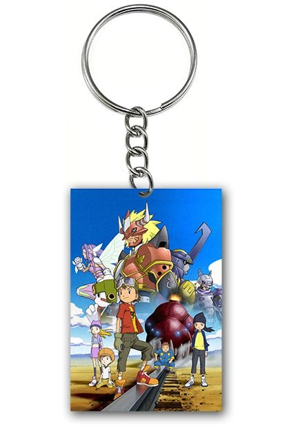 Chaveiro Digimon - Nerd e Geek - Presentes Criativos