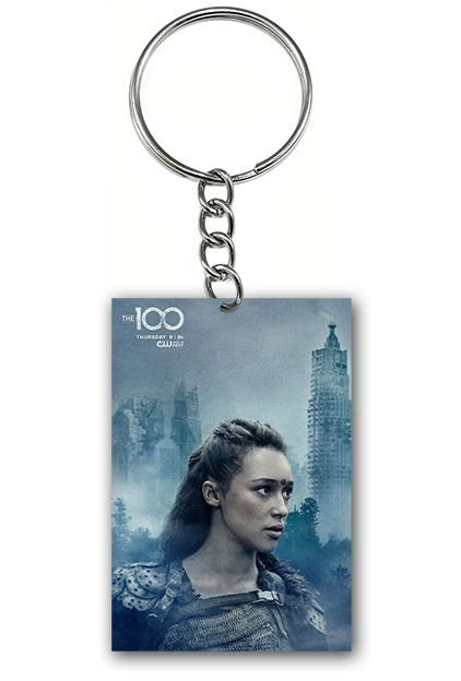 Chaveiro The 100 - Lexa - Nerd e Geek - Presentes Criativos
