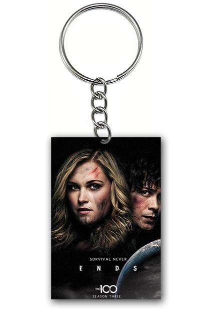 Chaveiro The 100 - Nerd e Geek - Presentes Criativos