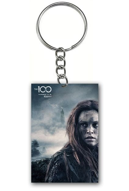 Chaveiro The 100 - Clarke - Nerd e Geek - Presentes Criativos