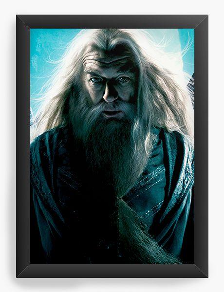Quadro Decorativo Harry Potter - Dumbledore