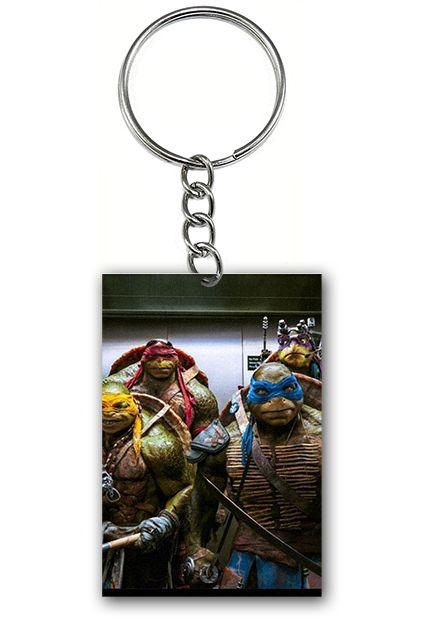 Chaveiro Tartarugas Ninjas - Nerd e Geek - Presentes Criativos