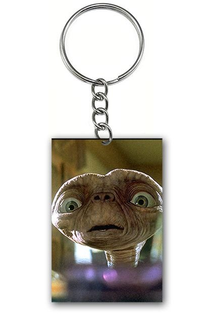 Chaveiro ET Extraterrestre - Nerd e Geek - Presentes Criativos
