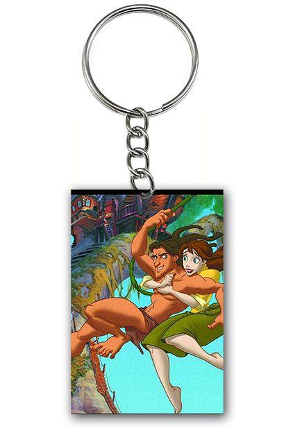 Chaveiro Tarzan e Jane - Nerd e Geek - Presentes Criativos
