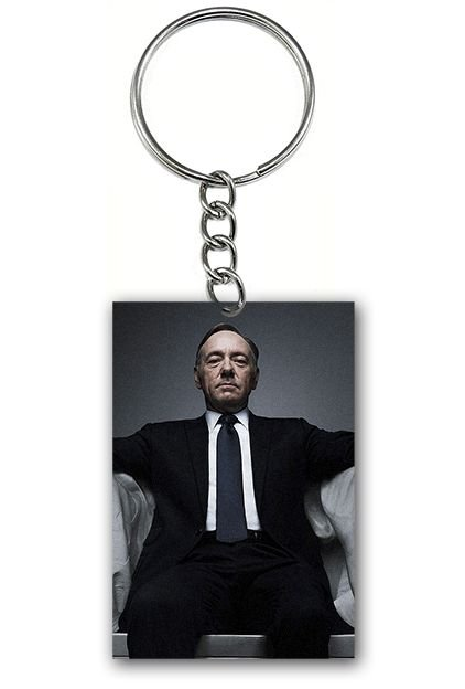 Chaveiro House of Cards - Nerd e Geek - Presentes Criativos