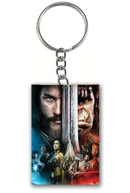 Chaveiro Warcraft - Nerd e Geek - Presentes Criativos