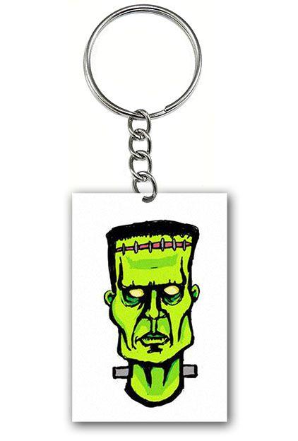 Chaveiro Frankenstein - Nerd e Geek - Presentes Criativos