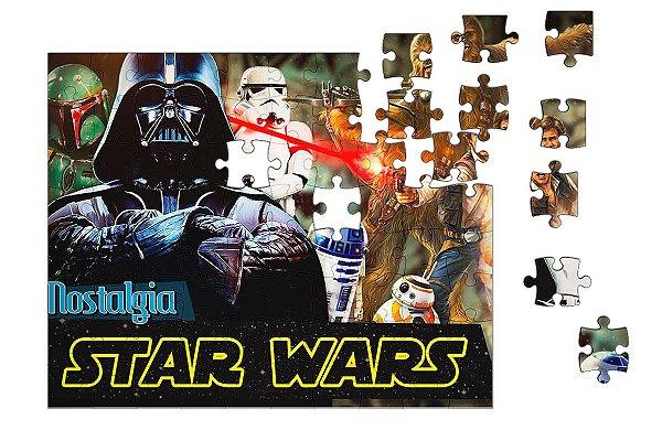 Quebra-Cabeça Star Wars - Darth Vader 90 pçs