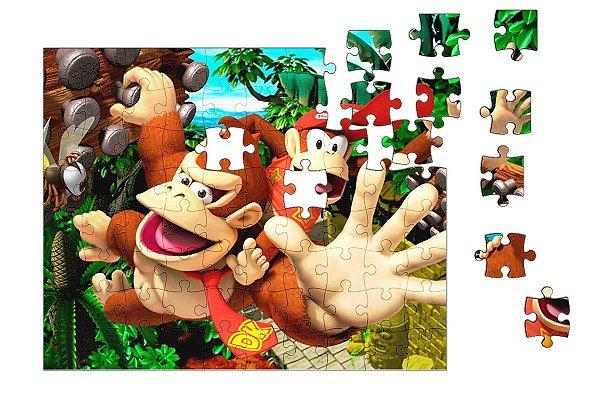Quebra-Cabeça Donkey Kong 90 pçs