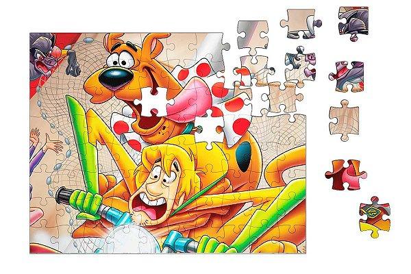 Quebra-Cabeça Scooby Doo 90 pçs - Nerd e Geek - Presentes Criativos