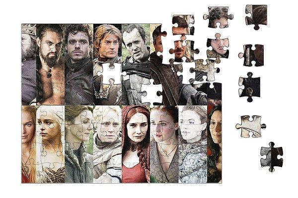 Quebra-Cabeça Game of Thrones 90 pçs - Nerd e Geek - Presentes Criativos