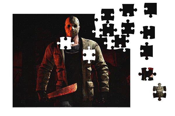Quebra-Cabeça Jason pçs 90 - Nerd e Geek - Presentes Criativos