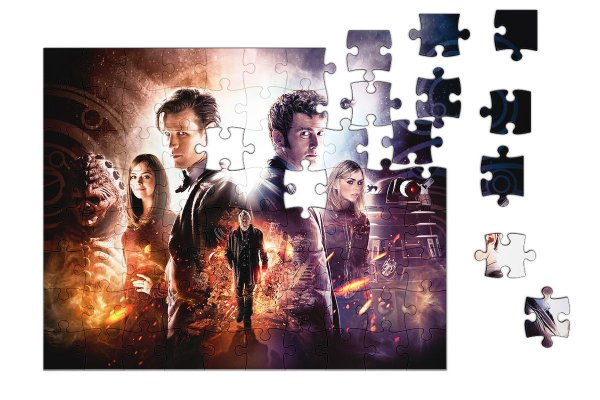 Quebra-Cabeça Doctor Who 90 pçs - Nerd e Geek - Presentes Criativos