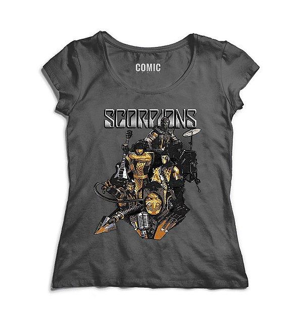 Camiseta Scorpions - Mortal Kombat
