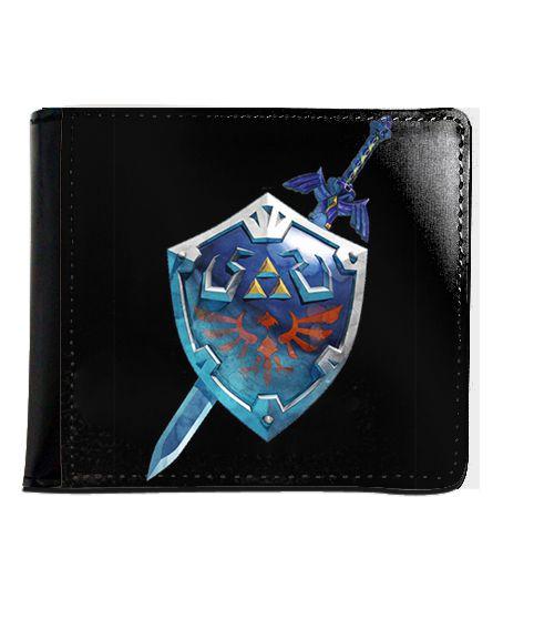 Carteira The Legend of Zelda - Nerd e Geek - Presentes Criativos