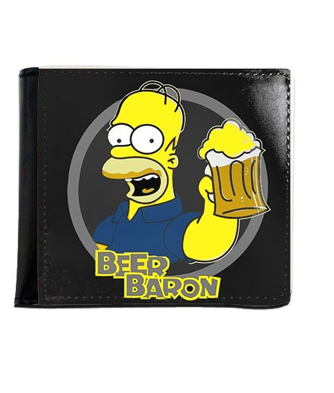 Carteira Homer Simpsons - Chopp - Nerd e Geek - Presentes Criativos