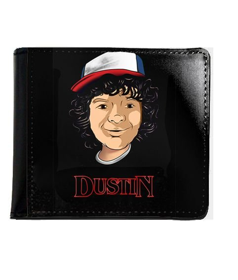 Carteira Dustin - Stranger Things - Nerd e Geek - Presentes Criativos