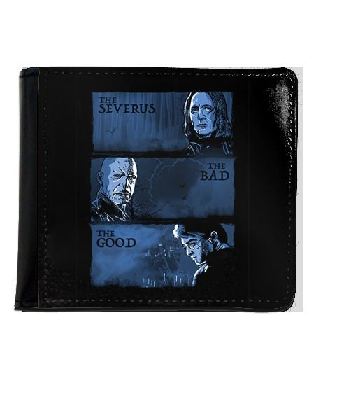 Carteira Harry Potter - Severo Snape e Valdemort - Nerd e Geek - Presentes Criativos