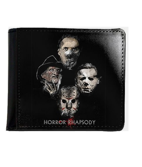 Carteira Freddy Krueger e Jason - Horror Rhapsody - Nerd e Geek - Presentes Criativos