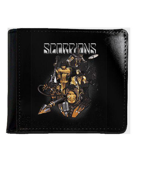 Carteira Scorpions - Mortal Kombat - Nerd e Geek - Presentes Criativos