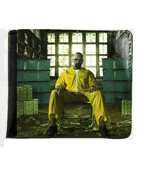 Carteira Breaking Bad - Serie - Nerd e Geek - Presentes Criativos